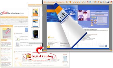 數位型錄網站入口